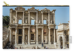 Celsus Library Carry-all Pouch by Kathy McClure