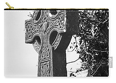 Celtic Cross At Fuerty Cemetery Roscommon Ireland Carry-all Pouch