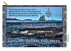 Celtic Explorer - Bluenose II In Halifax Harbour Carry-all Pouch