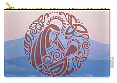 Celtic Madonna Over A Mountain Carry-all Pouch