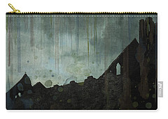 Carry-all Pouch featuring the painting Celtic Ruins by Ivana Westin