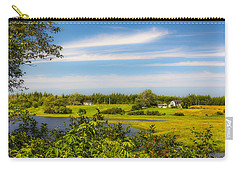 Celtic Shores Coastal Trail Carry-all Pouch by Ken Morris