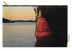 Celtic Tall Ship - El Galeon In Halifax Harbour At Sunrise Carry-all Pouch