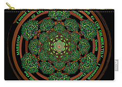 Celtic Tree Of Life Mandala Carry-all Pouch