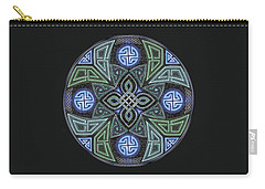 Celtic Ufo Mandala Carry-all Pouch