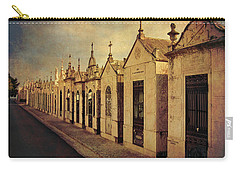 Cemetary In Santarem Portugal Carry-all Pouch by Menega Sabidussi
