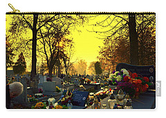 Cemetery In Feast Of The Dead Carry-all Pouch