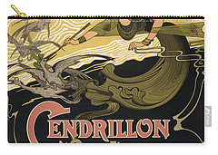 Cendrillon Poster 1899 Carry-all Pouch