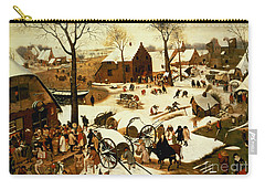 Census At Bethlehem Carry-all Pouch