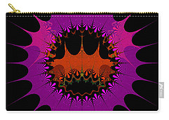 Carry-all Pouch featuring the digital art Centalgins by Andrew Kotlinski