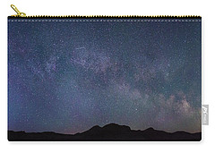Center Of The Milky Way Over The Badlands Carry-all Pouch