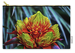 Carry-all Pouch featuring the photograph Centerpiece - Bromeliad 005 by George Bostian
