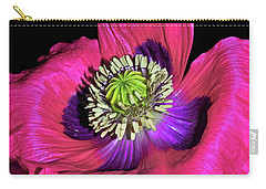 Centerpiece - Poppy 020 Carry-all Pouch by George Bostian