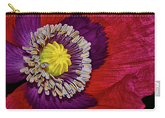 Centerpiece - Poppy 041 Carry-all Pouch