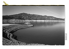 Carry-all Pouch featuring the photograph Centimudi In Black And White by Joyce Dickens