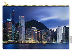 Central District Hong Kong Asia Carry-all Pouch by Panoramic Images