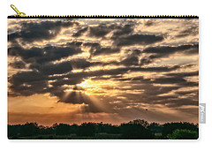 Carry-all Pouch featuring the photograph Central Florida Sunrise by Christopher Holmes