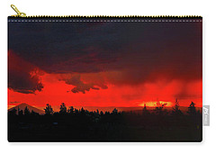 Central Oregon Sunset Carry-all Pouch