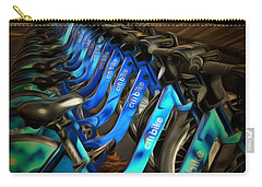 Central Park Bikes Carry-all Pouch by Trish Tritz