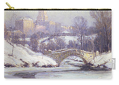 Central Park Carry-all Pouch by Colin Campbell Cooper