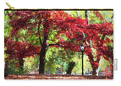 Central Park In Manhattan Carry-all Pouch