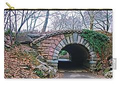 Central Park, Nyc Bridge Landscape Carry-all Pouch