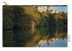Central Park Refelctions Carry-all Pouch by James Kirkikis