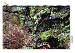 Central Park Rock Formation Carry-all Pouch by Sandy Moulder