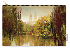 Carry-all Pouch featuring the photograph Central Park Splendor by Jessica Jenney