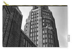 Carry-all Pouch featuring the photograph Central Terminal 15142 by Guy Whiteley