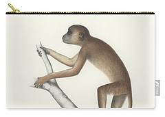 Central Yellow Baboon, Papio C. Cynocephalus Carry-all Pouch