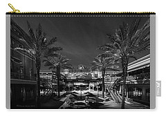 Carry-all Pouch featuring the photograph Centro Ybor Bw by Marvin Spates