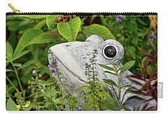 Ceramic Frog Carry-all Pouch