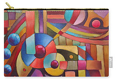 Cerebral Decor # 5 Carry-all Pouch by Jason Williamson