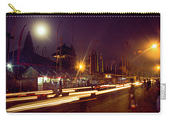 Carry-all Pouch featuring the photograph Ceremonious Crossings by T Brian Jones