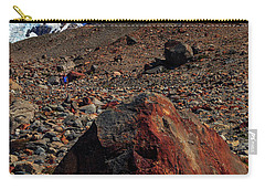 Carry-all Pouch featuring the photograph Cerro Torre 001 by Bernardo Galmarini