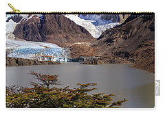 Carry-all Pouch featuring the photograph Cerro Torre 002 by Bernardo Galmarini