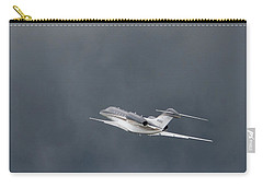 Carry-all Pouch featuring the photograph Cessna 750  by Guy Whiteley