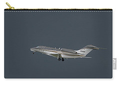 Carry-all Pouch featuring the photograph Cessna 750 N610cg by Guy Whiteley