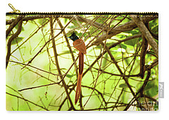 Ceylon Paradise Flycatcher Carry-all Pouch