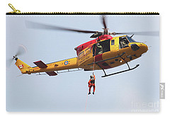Ch-146 Griffon Of The Canadian Forces Carry-all Pouch by Timm Ziegenthaler