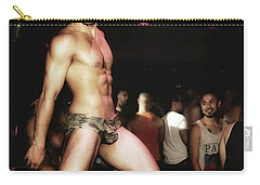 Carry-all Pouch featuring the photograph Chad Stewart. At A Gogo Boy Appearance by Mr Photojimsf
