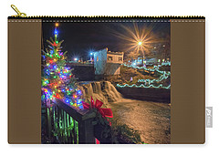 Chagrin Falls At Christmas Carry-all Pouch