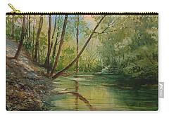 Chagrin River In Spring Carry-all Pouch
