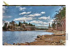 Chain Bridge On The Merrimack Carry-all Pouch