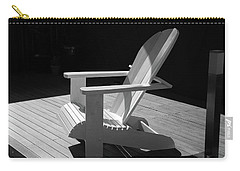 Chair In Black And White Carry-all Pouch