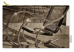 Carry-all Pouch featuring the photograph Chair by Samuel M Purvis III