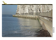 Chalk Cliffs At Peacehaven East Sussex England Uk Carry-all Pouch