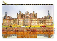 Chambord Castle Carry-all Pouch by Anton Kalinichev