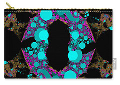 Carry-all Pouch featuring the digital art Chamention by Andrew Kotlinski